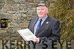 Bertie O'Connor , Ballyduff at the Michael Mulvihill  commemoration and Book Launch in Lowes Bar Ballyduff on Sunday