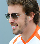 02 Apr 2009, Sepang Circuit, Kuala Lumpur, Malaysia --- ING Renault F1 Team driver Fernando Alonso of Spain during the 2009 Fia Formula One Malasyan Grand Prix at the Sepang circuit near Kuala Lumpur. Photo by Victor Fraile --- Image by © Victor Fraile / The Power of Sport Images