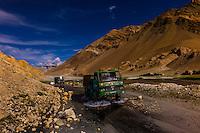 India-Ladakh-Pangong Lake Road
