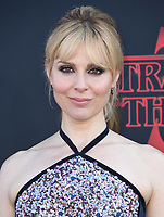 "28 June 2019 - Santa Monica, California - Cara Buono. ""Stranger Things 3"" Los Angeles Premiere held at Santa Monica High School. Photo Credit: Birdie Thompson/AdMedia"