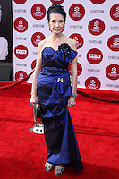 "HOLLYWOOD, LOS ANGELES, CA, USA - APRIL 10: Margaret O'Brien at the 2014 TCM Classic Film Festival - Opening Night Gala Screening of ""Oklahoma!"" held at TCL Chinese Theatre on April 10, 2014 in Hollywood, Los Angeles, California, United States. (Photo by David Acosta/Celebrity Monitor)"