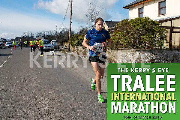 0230 John Gilmartn  who took part in the Kerry's Eye, Tralee International Marathon on Saturday March 16th 2013.