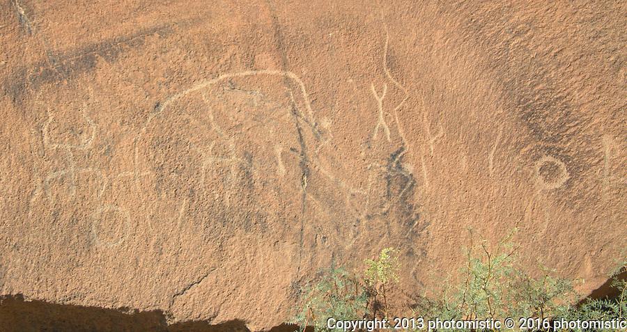petroglyphs in Indian Head