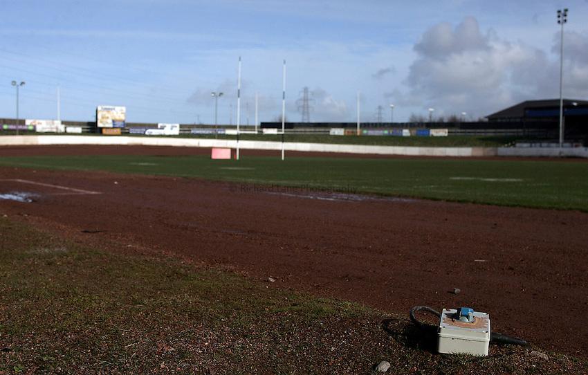 Photo: Paul Thomas..20/02/2007..Workington Rugby League Club..Stadium, General view