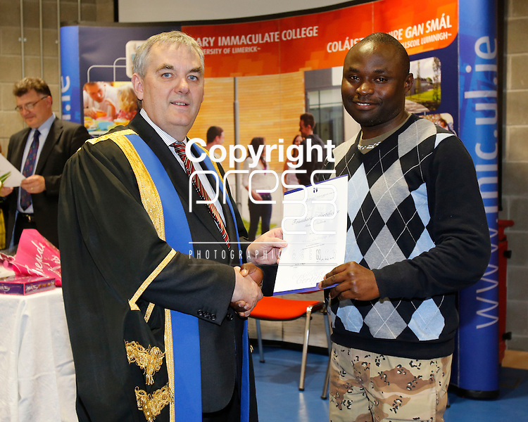 13/05/2014<br /> Pictured at the recent Foundation Certificate for Mature Learners award Ceremony were xxxxx<br /> A leader in the development of access pathways in Ireland, MIC has been hugely successful in attracting mature or &ldquo;second chance&rdquo; learners from all walks of life and diverse backgrounds whose educational experiences and opportunities in their earlier years may have been limited. <br /> The Foundation Certificate Programme is an access initiative co-ordinated by the Learner Support Unit in MIC, designed to cater for mature students who wish to continue their education, with a view to progressing to third level. <br /> This one year part-time evening programme is open to all mature students who might not necessarily have completed the Junior or Leaving Certificate.<br /> Picture: Don Moloney / Press 22