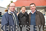 At the Kellihers Feed & Agri Supplies Open Day on Wednesday last Dan Crowley, Teagasc, .Emer Galvin, CA Galvin Ltd and John Lynch General Manager, Kellihers Feed & Agri.