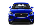 Car photography straight front view of a 2018 Jaguar E Pace R Dynamic 5 Door SUV