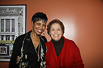 Starring Guiding Light Kim Brockington and her mom Betty on Opening Night of Kansas City Swing - A World Premiere on October 16 at Crossroads Theatre, New Brunswick, New Jersey  (Photo by Sue Coflin/Max Photos)