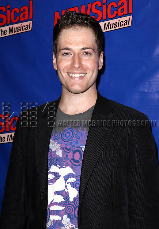 Randy Rainbow attending the Opening Night Performance of Perez Hilton in 'NEWSical The Musical' at the Kirk Theatre  in New York City on September 17, 2012.