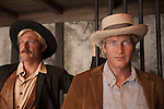 Wax figures of Robert Redford and Paul Newman at Madame Tussauds Hollywood, Los Angeles, CA