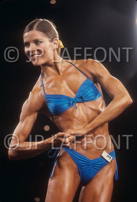 Atlantic City, NJ, April 24, 1981. Women's World Bodybuilding Championships.