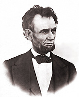 The last known photograph of President Lincoln alive. Taken on the balcony at the White House, March 6, 1865.