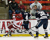 Max Everson (Harvard - 44), Rob O'Gara (Yale - 4) - The Yale University Bulldogs defeated the Harvard University Crimson 5-1 on Saturday, November 3, 2012, at Bright Hockey Center in Boston, Massachusetts.