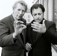 Danny Kaye Zubin Mehta Undated<br /> Photo By Adam Scull/PHOTOlink.net
