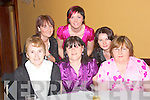 DANCE: Enjoying the Gael Scoil Lios Tuathail dance in the Listowel Arms Hotel on Friday night were front l-r: Catherine Fairley, Mary Keane and Noreen Lynch.  Back l-r: Annette Slemon, Siobha?n Dowling and Teresa Keane.   Copyright Kerry's Eye 2008