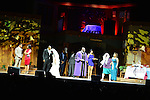 "MIAMI, FL - APRIL 30: Olrick Johnson, Ray Lavendar, Candice Pye, Zebulon Ellis, Monica Blaire, Patrice Lovely and Cheryl ""Pepsii"" Riley on stage during 'Hell Hath No Fury Like A Woman Scorned' a musical play created Tyler Perry, on April 30, 2014 in Miami, Florida. (Photo by Johnny Louis/jlnphotography.com)"