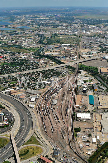 Rail yard north of downtown Denver.  Aug 2014. 812357
