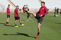 Lisbon, Portugal - Monday November 13, 2017: The USMNT training at Estadio Nacional.