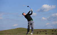 Jack Charman during Round Two of the West of England Championship 2016, at Royal North Devon Golf Club, Westward Ho!, Devon  23/04/2016. Picture: Golffile | David Lloyd<br /> <br /> All photos usage must carry mandatory copyright credit (&copy; Golffile | David Lloyd)