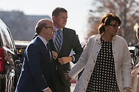 Former Trump National Security Advisor Michael Flynn arrives at US District Court in Washington, DC where he is expected to enter a guilty plea for &ldquo;willfully and knowingly&rdquo; making &ldquo;false, fictitious and fraudulent statements&rdquo; to the FBI regarding conversations he had during his time at the White House with Russia&rsquo;s ambassador on Friday, December 1, 2017.<br /> Credit: Alex Edelman / CNP /MediaPunch