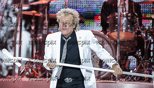 ROD STEWART- performing live on the Live The Life Tour concert at the O2 in London UK - 04 June 2013.  Photo credit: Iain Reid/IconicPix