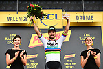 World Champion Peter Sagan (SVK) Bora-Hansgrohe wins Stage 13 his 3rd stage win of the 2018 Tour de France running 169.5km from Bourg d'Oisans to Valence, France. 20th July 2018. <br /> Picture: ASO/Alex Broadway | Cyclefile<br /> All photos usage must carry mandatory copyright credit (&copy; Cyclefile | ASO/Alex Broadway)
