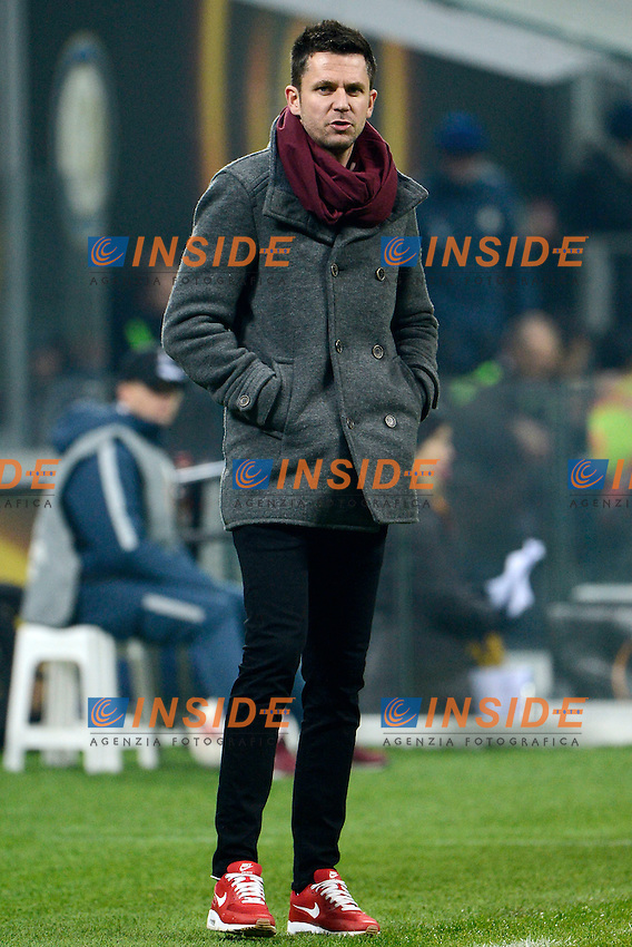 Zdenek Svoboda allenatore Sparta Praga coach<br /> Milano 8-12-2016 Stadio Giuseppe Meazza - Football Calcio Europa League Inter - Sparta Praga. Foto Giuseppe Celeste / Insidefoto