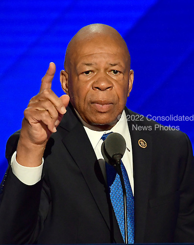 United States Representative Elijah Cummings (Democrat of Maryland) makes remarks at the 2016 Democratic National Convention at the Wells Fargo Center in Philadelphia, Pennsylvania on Monday, July 25, 2016.<br /> Credit: Ron Sachs / CNP<br /> (RESTRICTION: NO New York or New Jersey Newspapers or newspapers within a 75 mile radius of New York City)