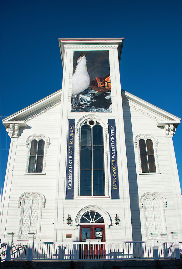 Farnsworth Wyeth Center, Rockland, Maine, USA