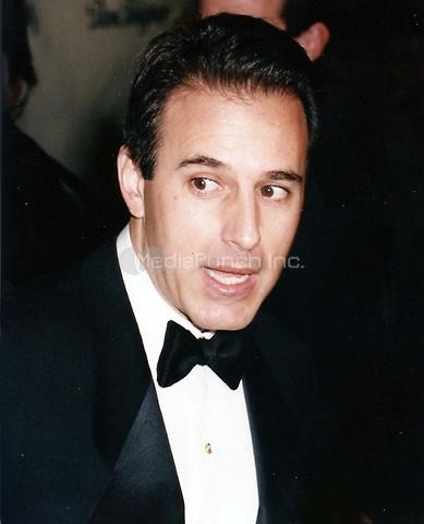 Matt Lauer 1998<br /> Photo to By John Barrett/PHOTOlink/MediaPunch