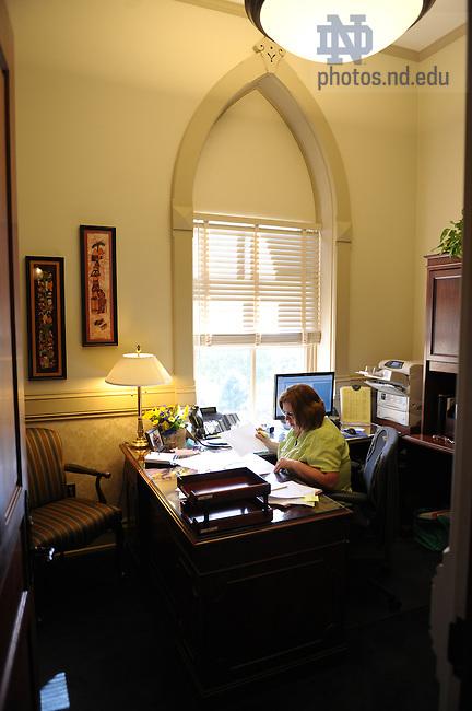 Office of the President..Photo by Matt Cashore/University of Notre Dame
