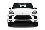 Car photography straight front view of a 2018 Porsche Macan Base 5 Door SUV