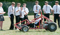 Design Technology class built this buggy, state secondary school.