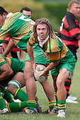 Drury halfback Carl Selby. Counties Manukau Premier Club Rugby Game of the Week between Drury & Papakura, played at Drury Domain on Saturday Aprill 11th, 2009..Drury won 35 - 3 after leading 15 - 5 at halftime.