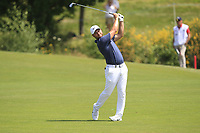 Jordan Smith (ENG) on the 1st fairway during Round 4 of the HNA Open De France at Le Golf National in Saint-Quentin-En-Yvelines, Paris, France on Sunday 1st July 2018.<br /> Picture:  Thos Caffrey | Golffile