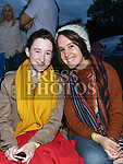 Dearbhla and Aoife Roden at the East Meath United outdoor Cinema night. Photo:Colin Bell/pressphotos.ie