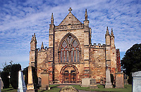 St. Mary's Church,  Haddington, East Lothian. Scotland's largest parish church. Constructed in 14th/15th centuries..