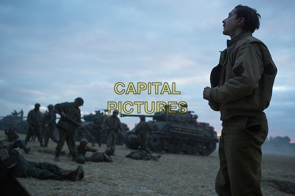 Shia LaBeouf<br /> in Fury (2014)  <br /> *Filmstill - Editorial Use Only*<br /> CAP/NFS<br /> Image supplied by Capital Pictures