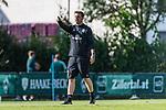 10.07.2019, Parkstadion, Zell am Ziller, AUT, TL Werder Bremen Zell am Ziller / Zillertal Tag 06<br /> <br /> im Bild<br /> Florian Kohfeldt (Trainer SV Werder Bremen), <br /> <br /> Foto © nordphoto / Ewert