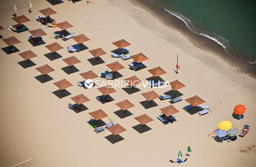 Il mare e la spiaggia di Catania..
