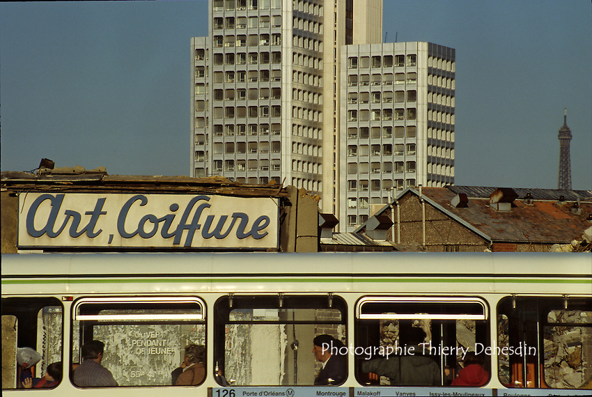 1989-1994; Issy Les Moulineaux;  Val de Seine;