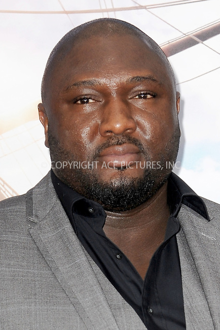 WWW.ACEPIXS.COM<br /> October 4, 2015 New York City<br /> <br /> Nonso Anozie attending the 'Pan' New York Premiere arrivals at Ziegfeld Theater on October 4, 2015 in New York City.<br /> <br /> Credit: Kristin Callahan/ACE Pictures<br /> <br /> Tel: (646) 769 0430<br /> e-mail: info@acepixs.com<br /> web: http://www.acepixs.com