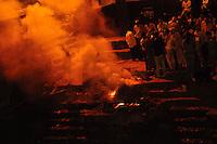 Burning the dead - Hindu cremation at the Bagmati river, Pashupatinath, Nepal