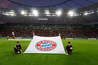 17.04.2018, Football DFB Pokal 2017/2018, semi final , Bayer Leverkusen - FC Bayern Muenchen, in BayArena Leverkusen. Bayernlogo. *** Local Caption *** © pixathlon<br /> <br /> Contact: +49-40-22 63 02 60 , info@pixathlon.de