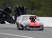 Mar 17, 2019; Gainesville, FL, USA; NHRA pro mod driver Marc Caruso during the Gatornationals at Gainesville Raceway. Mandatory Credit: Mark J. Rebilas-USA TODAY Sports