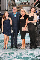 Ellie Winstone, Ray Winstone, Elaine Winstone, Lois Winstone at the Noah - UK film premiere held at the Odeon Leicester Square, London. 31/03/2014 Picture by: Henry Harris / Featureflash