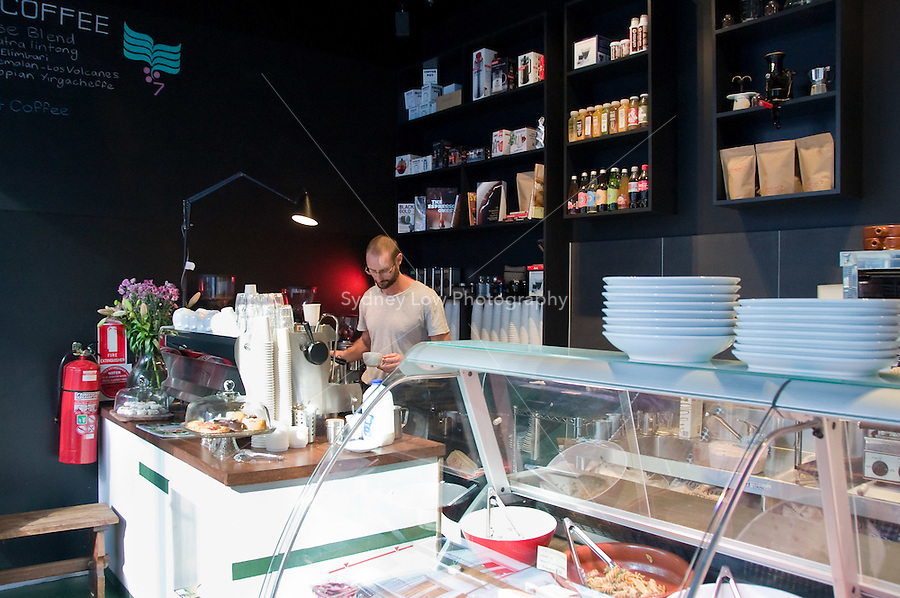 Shop 7 Espresso - 7/551 Little Lonsdale St. Photo Sydney Low / Five Senses Coffee