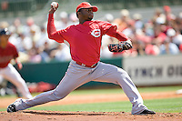 Cueto, Johnny 6961.jpg. Spring Training. Cincinnati Reds at Houston Astros. Spring Training Game. Friday March 20th, 2009 in Kissimmee., Florida. Photo by Andrew Woolley.