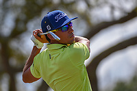 Rafael Cabrera Bello (ESP) watches his tee shot on 7 during round 4 of the Arnold Palmer Invitational at Bay Hill Golf Club, Bay Hill, Florida. 3/10/2019.<br /> Picture: Golffile | Ken Murray<br /> <br /> <br /> All photo usage must carry mandatory copyright credit (© Golffile | Ken Murray)
