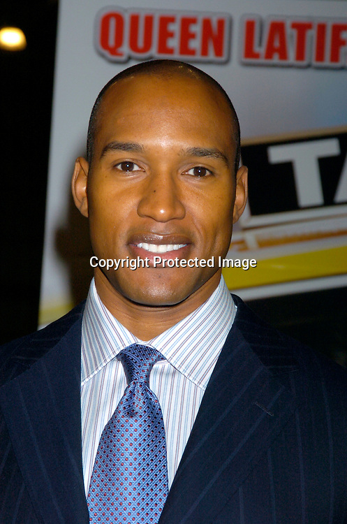 "Henry Simmons..at the World's First ever Taxi Cab Drive-in for ""Taxi"" ..on October 3, 2004 at the Jacob Javits Center. ..Photo by Robin Platzer, Twin Images"